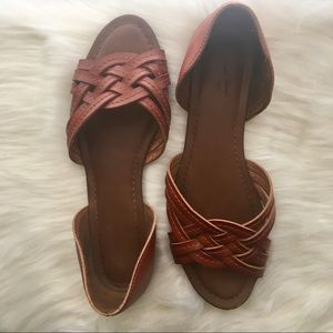 Brown sandals   7.5